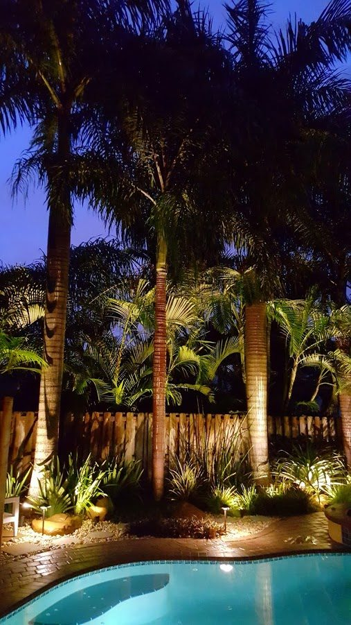 Low voltage led lighting elite landscaping group in sunrise fl our low voltage outdoor led lighting not only adds beauty to your landscape but also acts as an excellent security feature aloadofball Choice Image